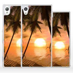 Cover romantico tramonto per Sony Xperia