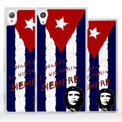 Cover bandiera Cuba Che Guevara per Sony Xperia