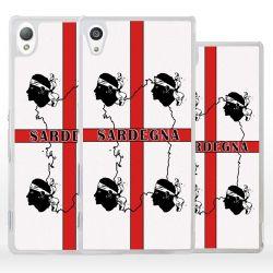 Cover bandiera Sardegna quattro Mori per Sony Xperia