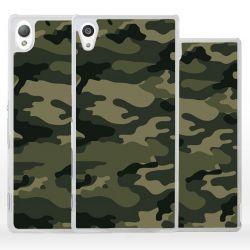 Cover camouflage mimetico militare per Sony Xperia