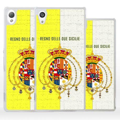 Cover bandiera Borbonica Regno Due Sicilie per Sony Xperia