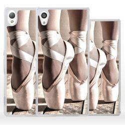 Cover danza classica scarpe per Sony Xperia