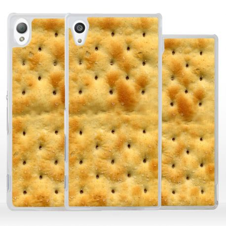 Cover biscotto crackers per Sony Xperia
