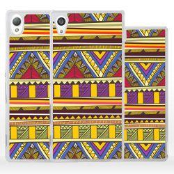 Cover etnica fantasia tribale Azteca per Sony Xperia