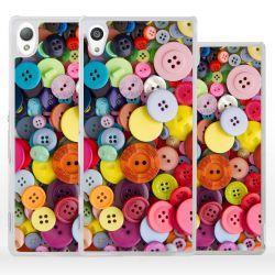 Cover bottoni sarta per Sony Xperia