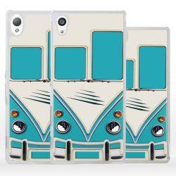 Cover per Sony Xperia pulmino bus vintage