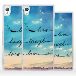 Cover Live Laugh Love per Sony Xperia