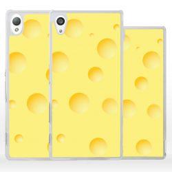 Cover per Sony Xperia formaggio svizzero