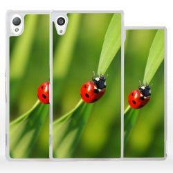 Cover per Sony Xperia coccinella portafortuna
