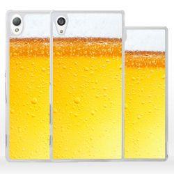 Cover per Sony Xperia bicchiere birra