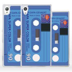 Cover per Sony Xperia forma cassetta nastro