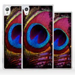 Cover per Sony Xperia piuma pavone