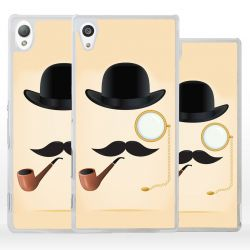 Cover per Sony Xperia baffi hipster