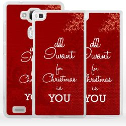 Cover regalo Natale per Huawei