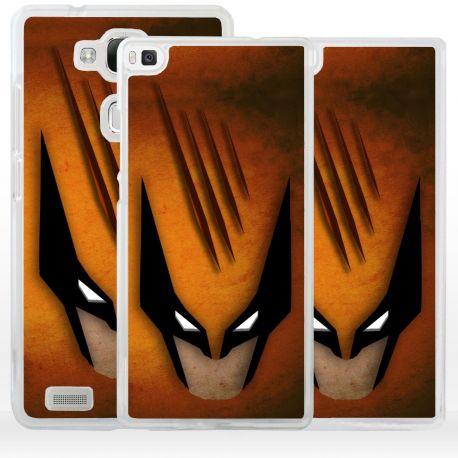 Cover Superhero Wolf Lupo per Huawei