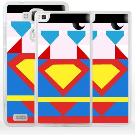 Cover Superhero Acciaio per Huawei