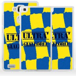 Cover ultras tifosi gialloblu per Huawei Honor