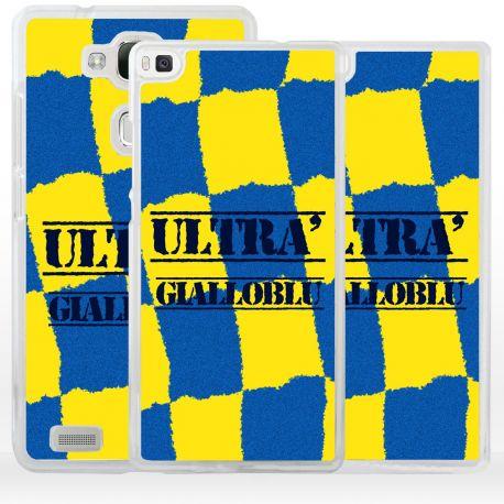 Cover ultras tifosi gialloblu per Huawei
