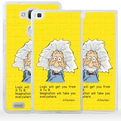 Cover Albert Einstein per Huawei