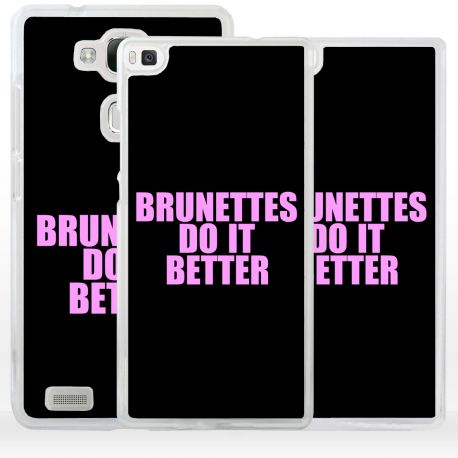 Cover brunettes do it better per Huawei