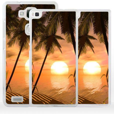 Cover romantico tramonto per Huawei