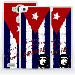 Cover bandiera Cuba Che Guevara per Huawei Honor