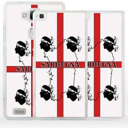 Cover bandiera Sardegna quattro Mori per Huawei Honor