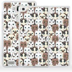 Cover gatti siamesi per Huawei