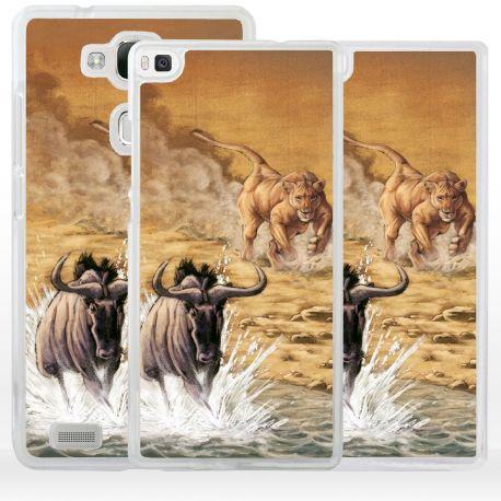 Cover quadro scena caccia per Huawei