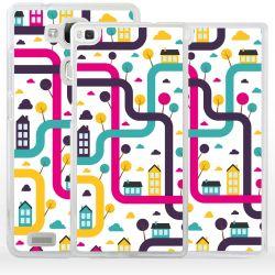 Cover città labirinto per Huawei Honor