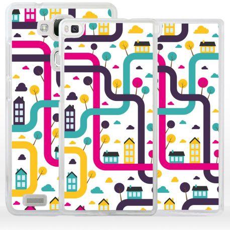 Cover città labirinto per Huawei