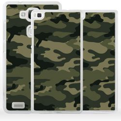 Cover camouflage mimetico militare per Huawei