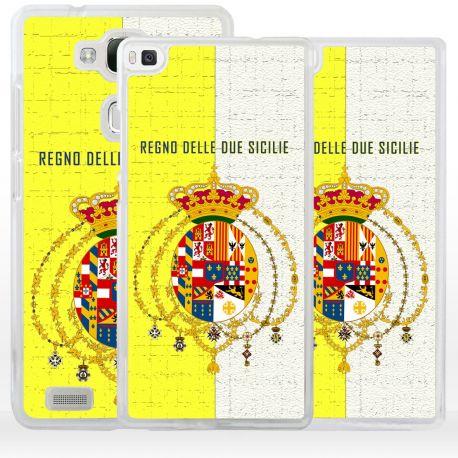 Cover bandiera Borbonica Regno Due Sicilie per Huawei