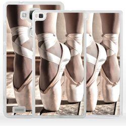Cover scarpe danza classica per Huawei Honor