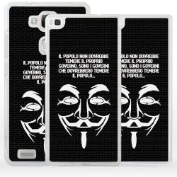 Cover maschera V Guy Fawkes Anonymous per Huawei