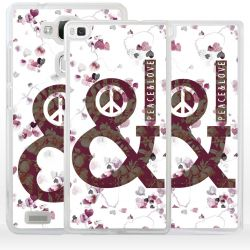 Cover Peace and Love per Huawei