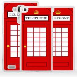 Cover per Huawei cabina telefonica inglese