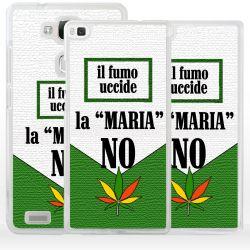 Cover foglia marijuana per Huawei