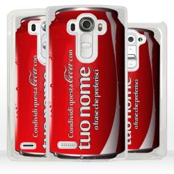 Cover lattina personalizzata per LG