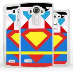 Cover Superhero Acciaio per LG