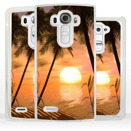 Cover romantico tramonto per LG