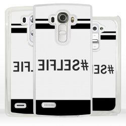 Cover Selfie scritta specchiata per LG