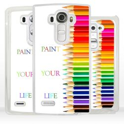 Cover con frase Paint your Life per LG