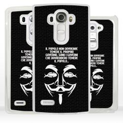 Cover maschera V Guy Fawkes Anonymous per LG