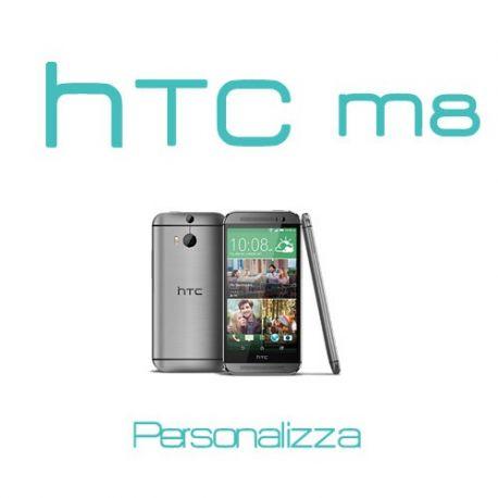 Cover Personalizzata per HTC M8