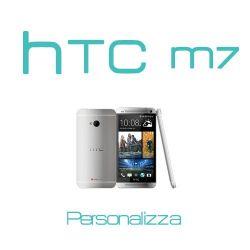 Cover Personalizzata per HTC M7