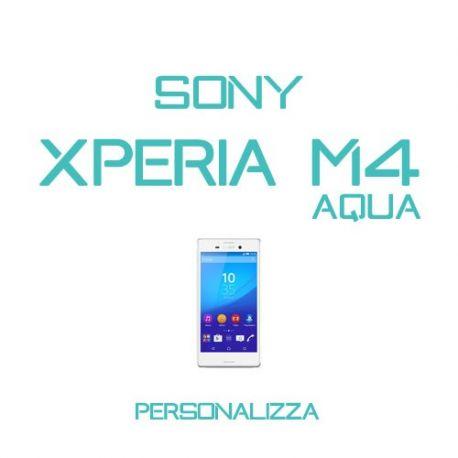 Cover Personalizzata per Sony Xperia M4 Aqua