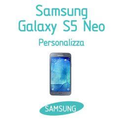 Cover Personalizzata per Samsung Galaxy S5 Neo