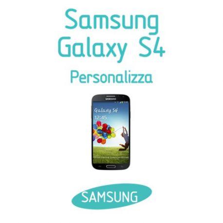 Cover Personalizzata per Samsung Galaxy S4
