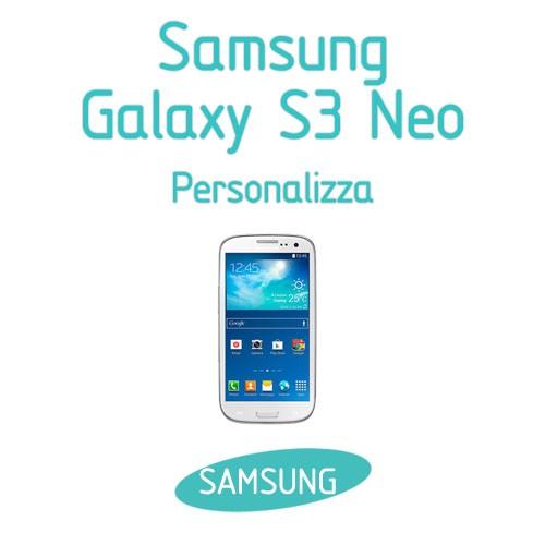 cover samsung s3 neo personalizzate